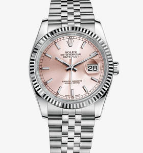 Macasamhail Rolex Datejust 36 mm Watch : Rolesor White - meascán