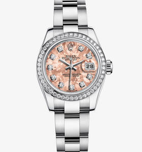 Macasamhail Rolex Datejust Watch Lady - : Rolesor White - meascá